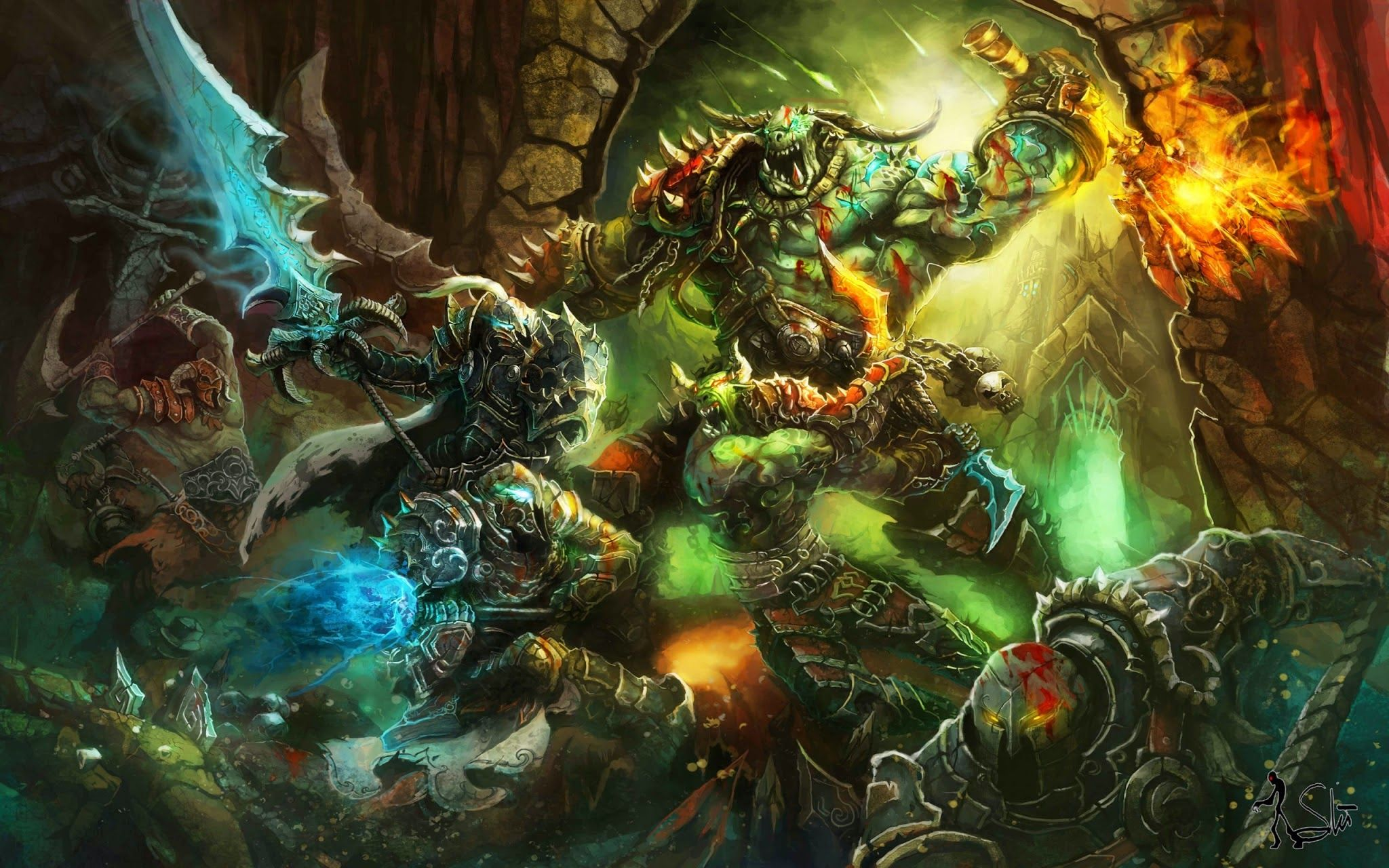 Epic Hd Wallpapers World Of Warcraft World Of Warcraft Legion