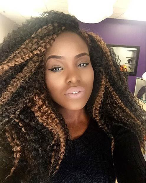 honey hair style 41 chic crochet braid hairstyles for black hair stayglam 5080