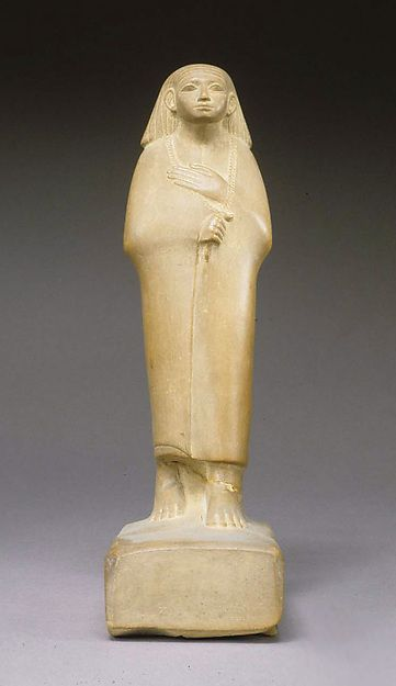 Statue of a Cloaked Man 12th-13th Dynasty, Middle Kingdom c.1850 BC (Source: The Met Museum)