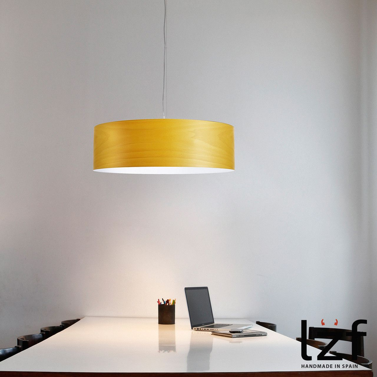 The light flowing from the side of Gea #pendantlight creates a ...