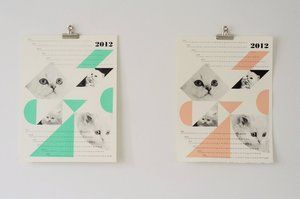 ah-may-zing. dreamcats calendar in mint or peach. need it for the craft room!