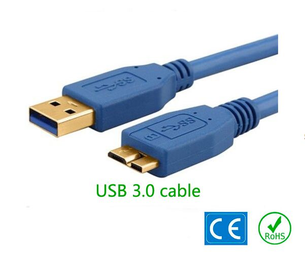 1m 3ft Usb 3 0 Cable Cord For Seagate Goflex External Hard Drive Super Speed 5gbps Type A To Micro B Device Free Shipping Usb Usb Flash Drive Seagate