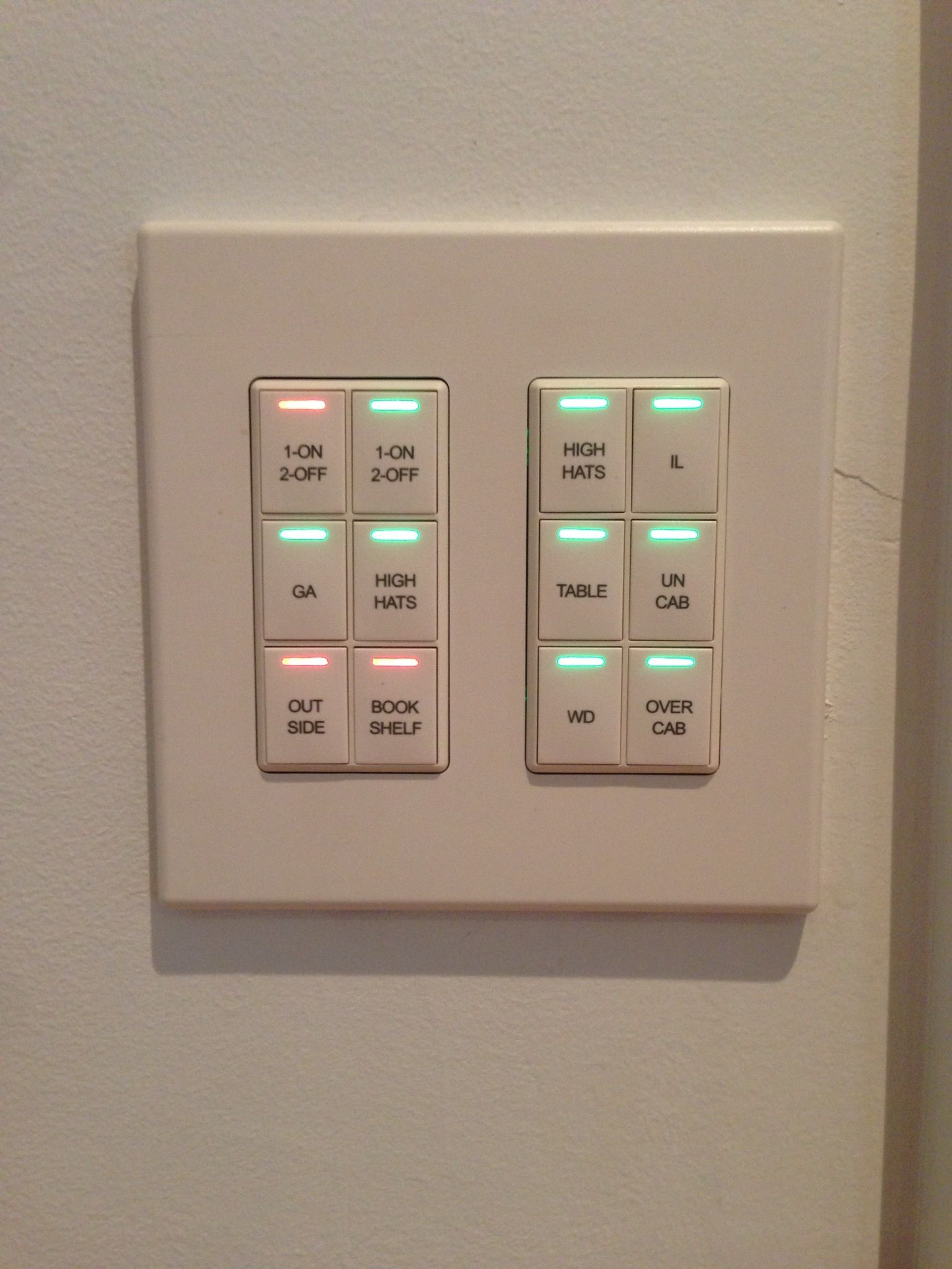 Control4 lighting Control keypads | Keypads in 2019 | Home