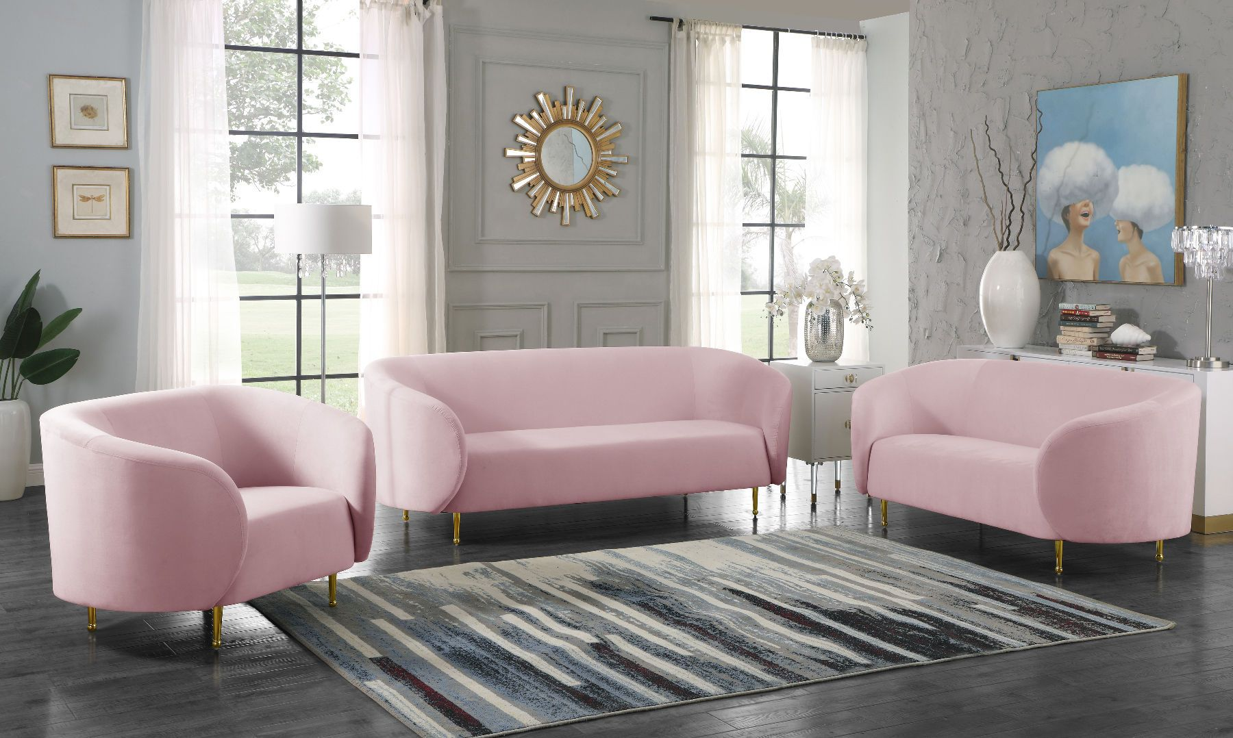17+ Pink living room set ideas in 2021