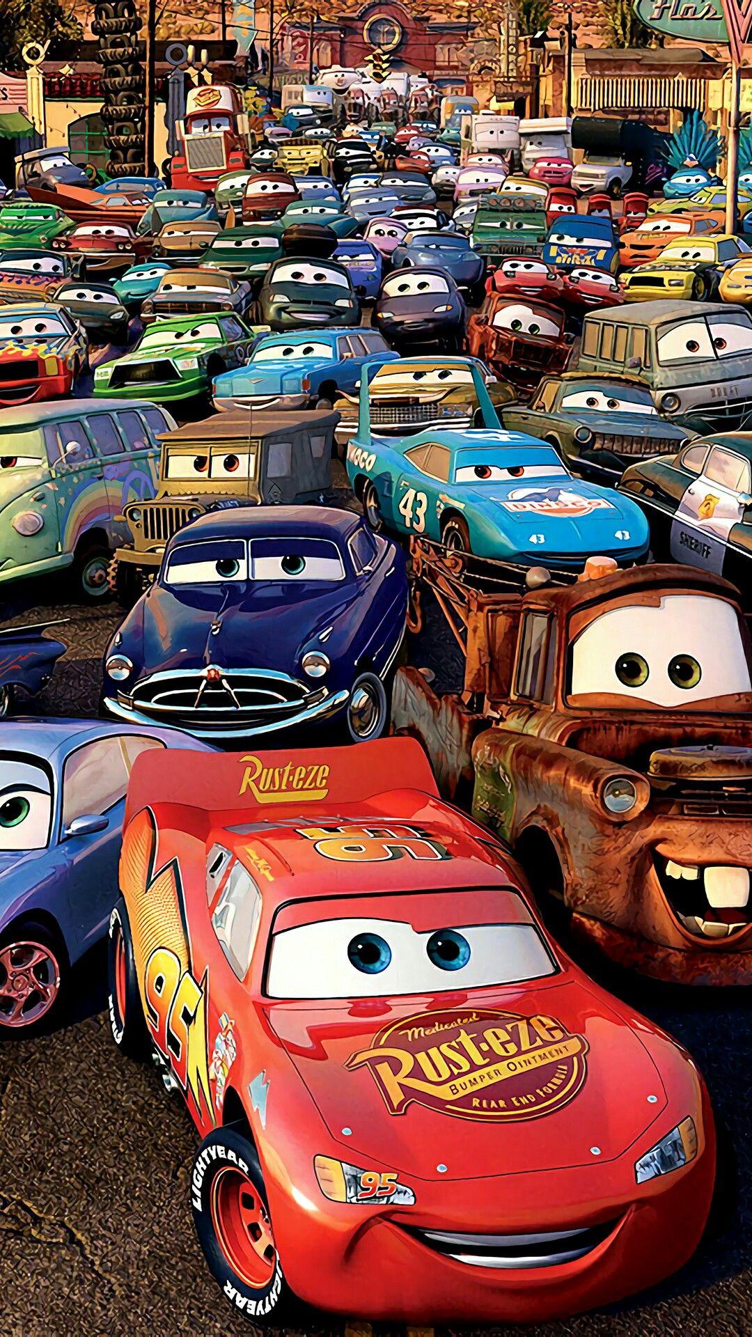 Idea by Ditmir Ulqinaku on Anime Disney cars movie