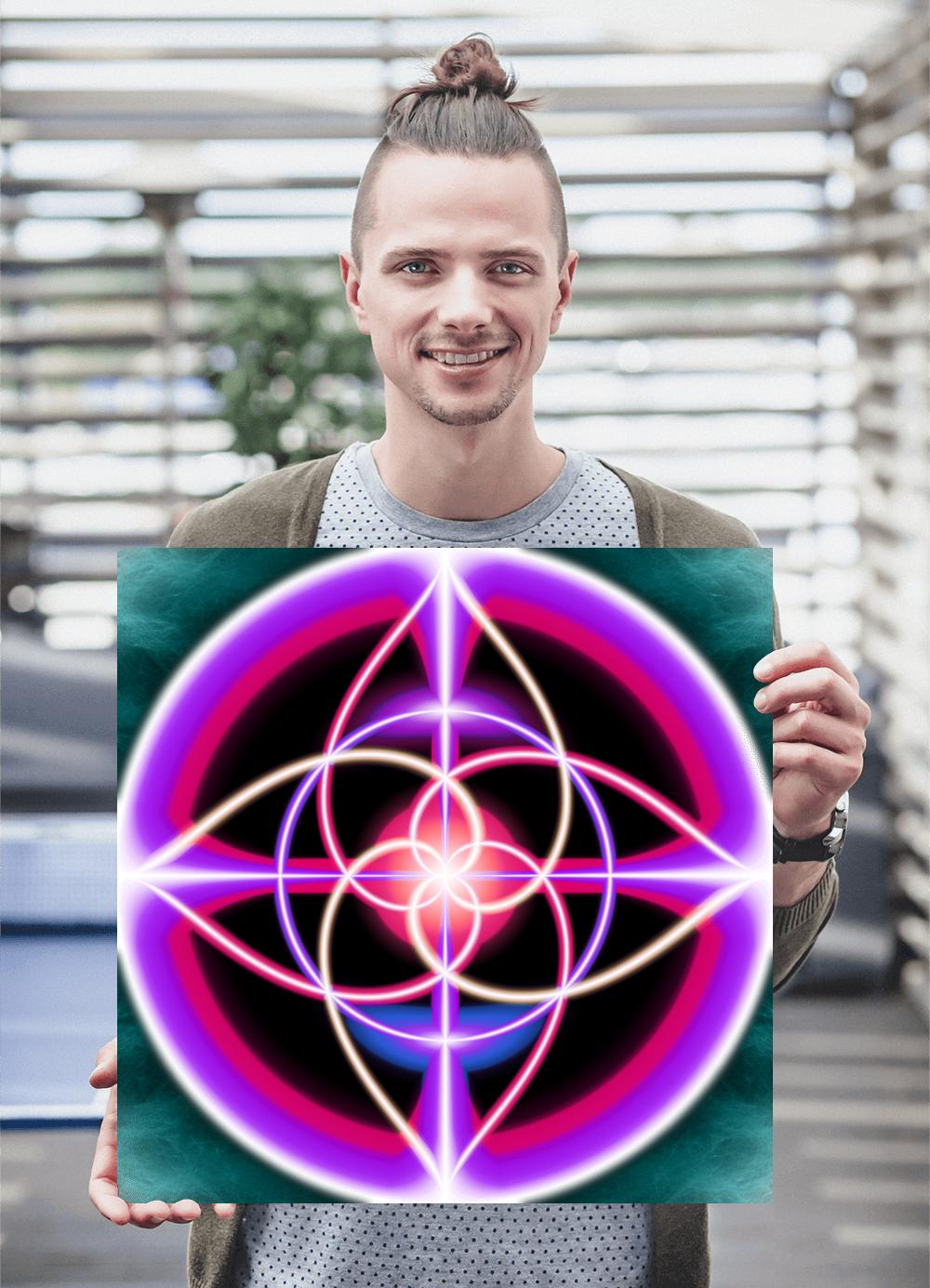Tubular Mandala - Poster