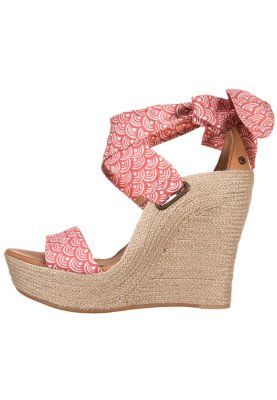 UGG Australia JULES - Wedge sandals - coral reef for £110.00 (15/03/15) with free delivery at Zalando
