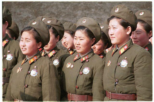 North Korea: Pueblo and soldiers