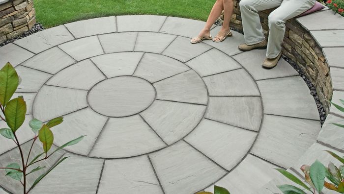 Garden Stone Circles Stone circle paving google search garden pinterest gardens stone circle paving google search workwithnaturefo