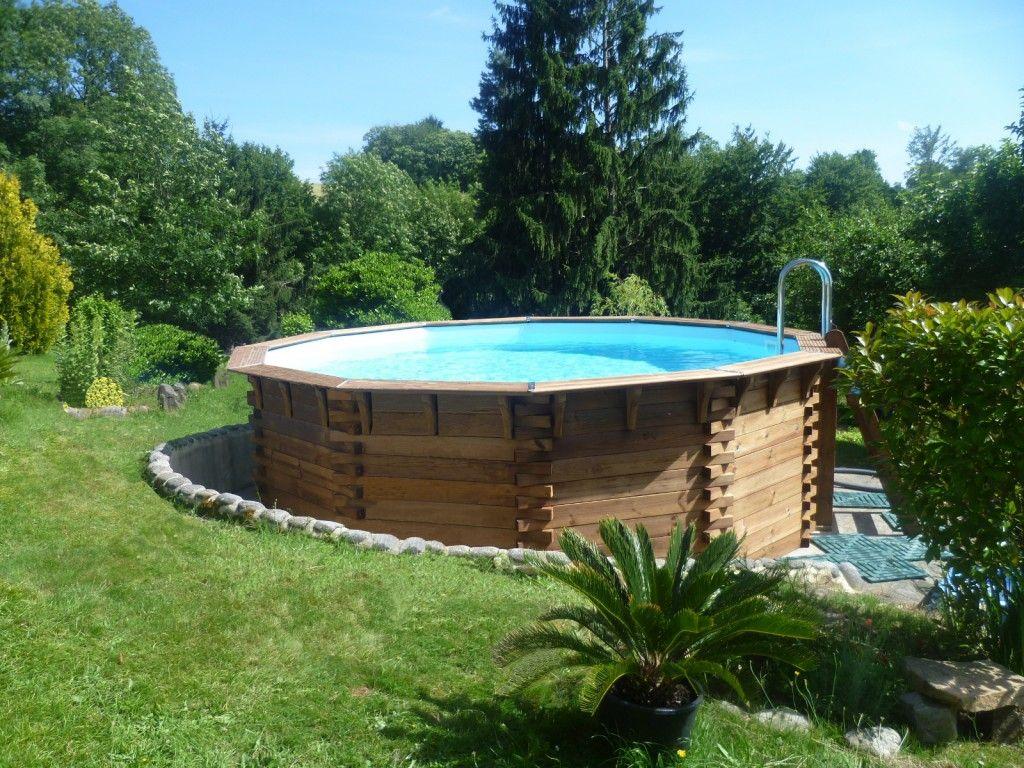 Piscine bois hors sol ma va 500 bois piscine plaisir eau plongez dans une piscine 100 - Piscine bois classe 5 ...