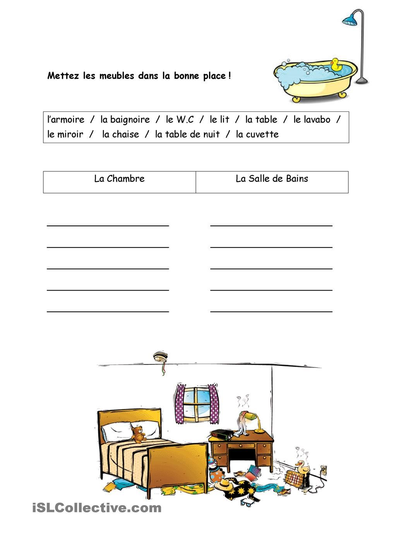 Meubles Francuzskij Pinterest Maison Fiches Pedagogiques Et