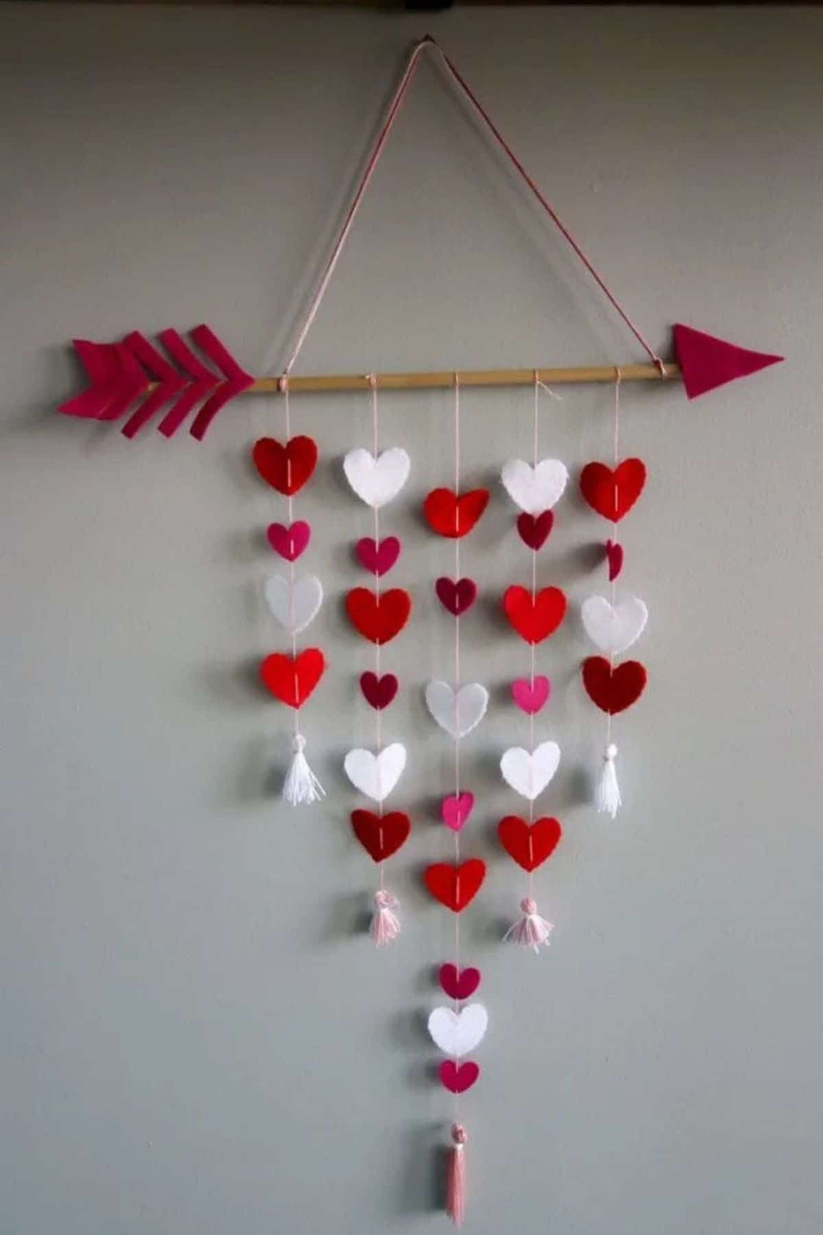 Celebrate the season of love with one or all of these Valentine's Day decorations! Tons of easy heart decor, heart