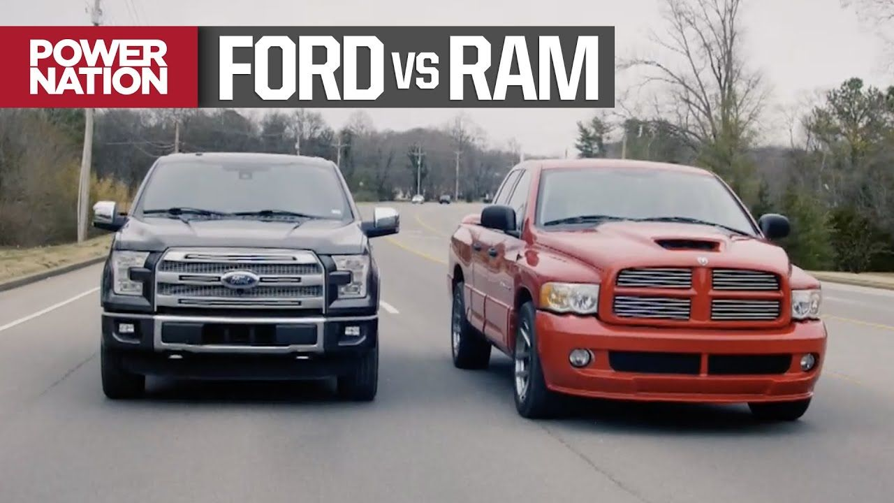 Ford F150 Ecoboost Vs Dodge Ram Srt 10 Muscle Trux Build Off Begins T Dodge Ram Srt 10 Ram Srt 10 F150