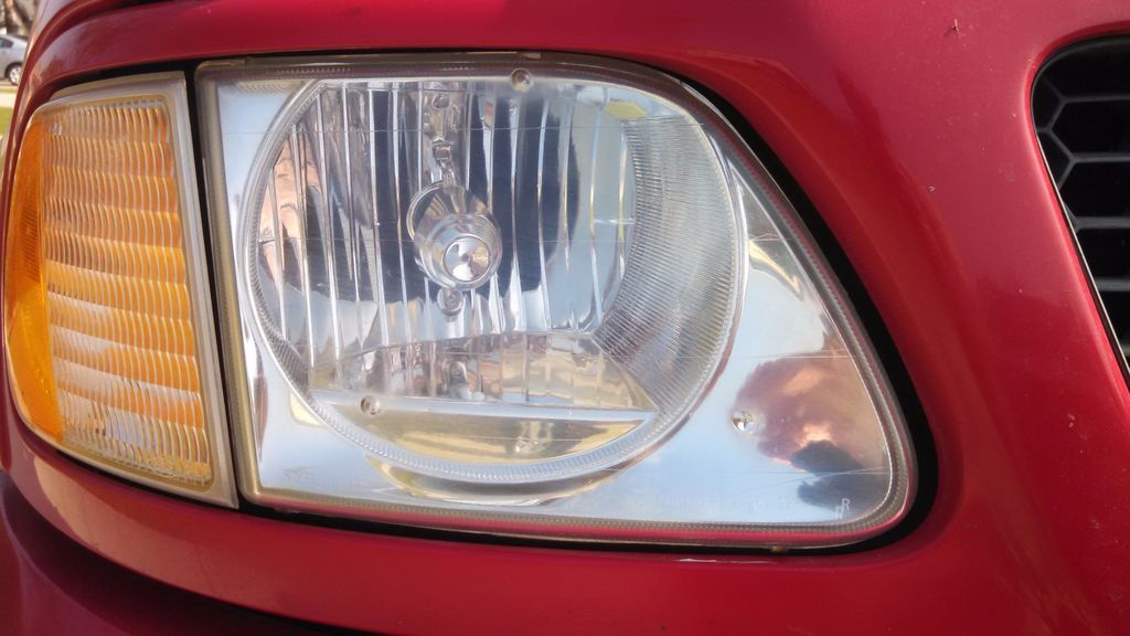 Clean your headlights with toothpaste clean headlights