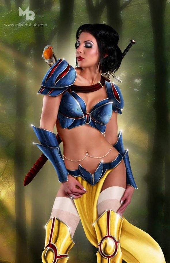 Snow white sexy toons