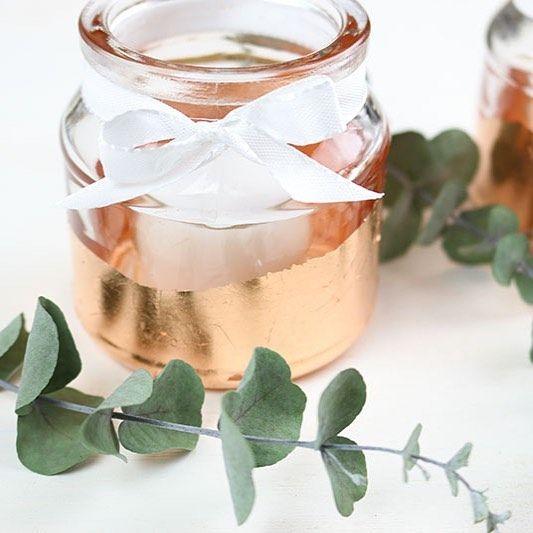 Photo of DIY glass bryllupsdekorasjon: 37 inspirasjoner – bryllupseske