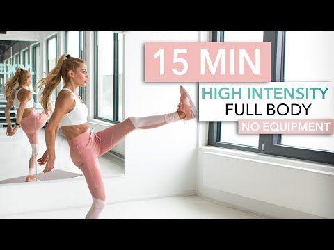 Full Body HIIT: 15 Minuten Kalorienkiller-Workout von Pamela Reif - FIT FOR FUN