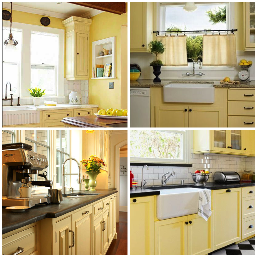 Mellow Yellow 5 Ways To Use Buttercup Yellow In Your Kitchen Yellow Kitchen Cabinets Kitchen Cabinets New Kitchen Cabinets