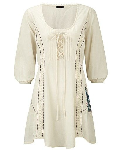 Joe Browns Boutique Blouse - If only it wasn't white.