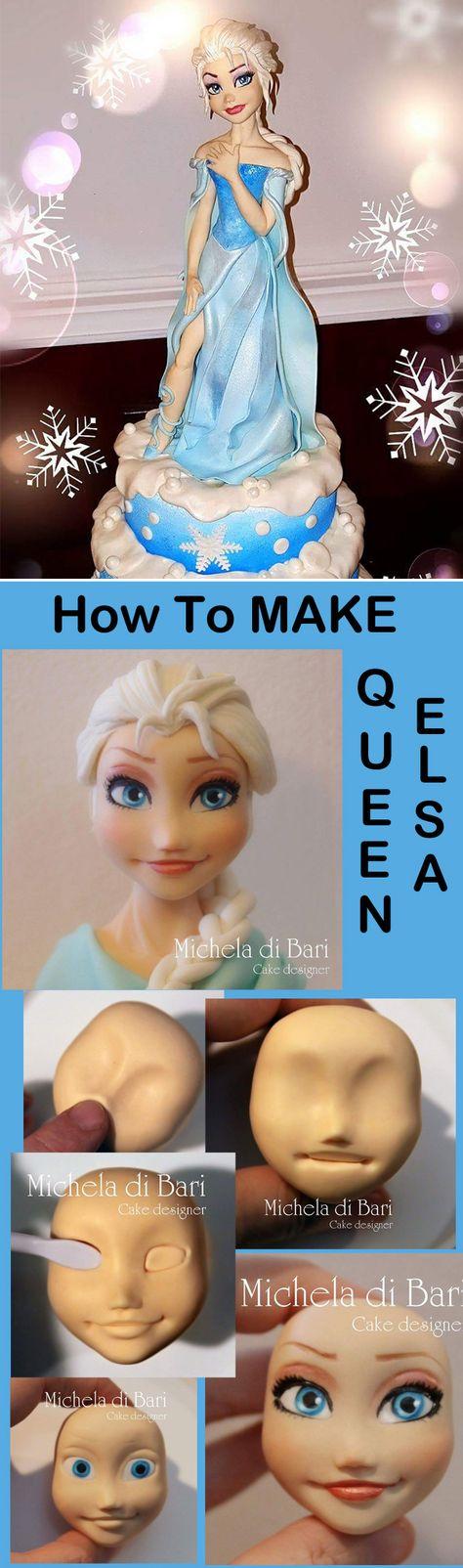How To Make A Splendid Elsa Cake Topper