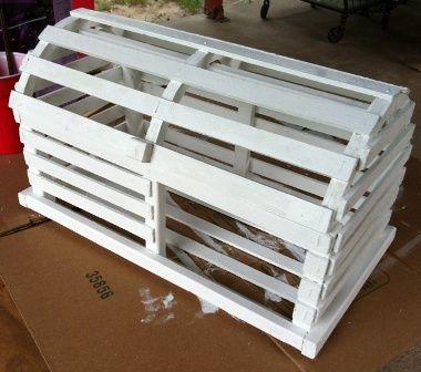 DIY Lobster Trap Card Box | Weddingbee Do It Yourself | Wedding ...