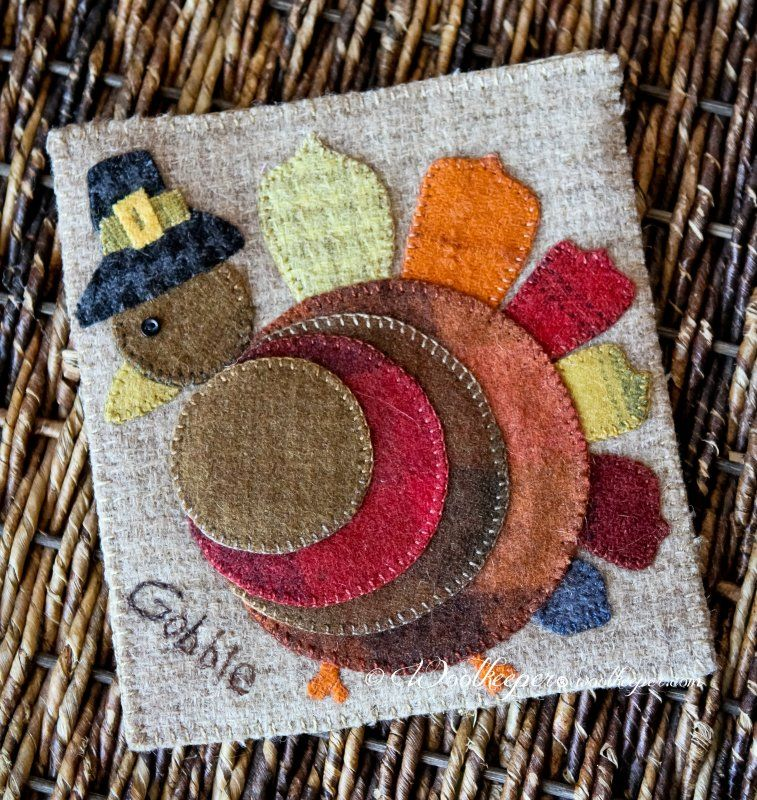 Cute And Unusual Turkey Like The Pilgrim Hat Wool