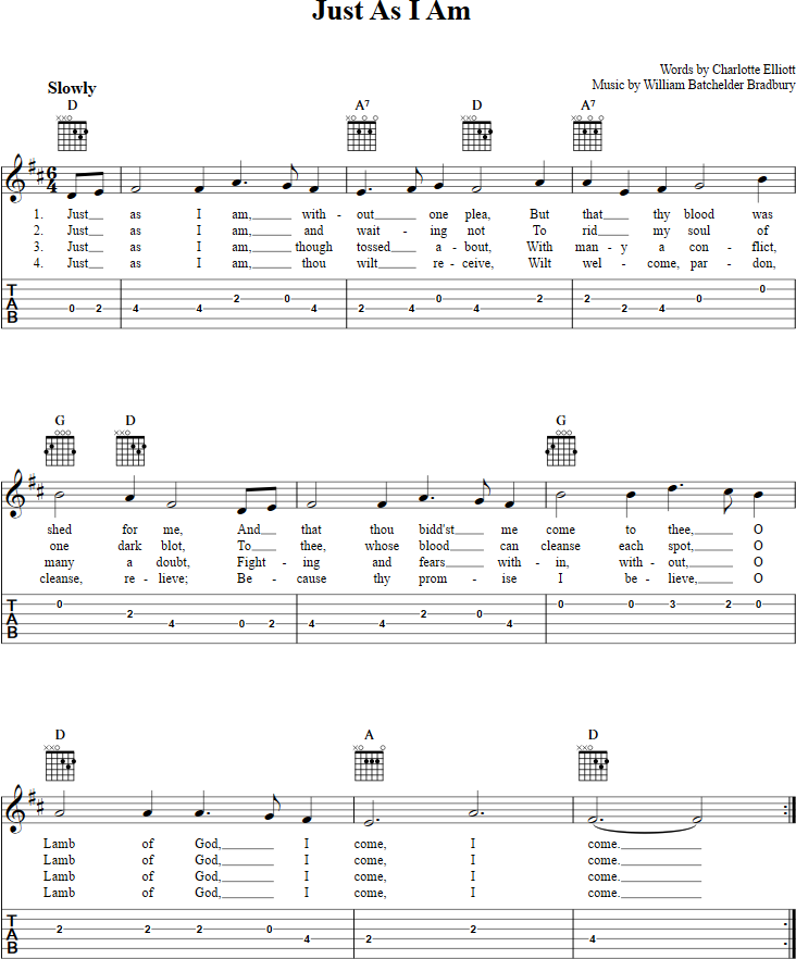 Music Score And Guitar Tabs For We Three Kings Of Orient Are Sheet