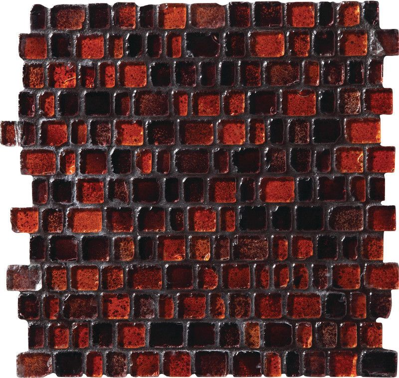 Jewel Tide - Bonfire JT07 Tumbled Glass Mosaic On Sale - $18.09 sq ...