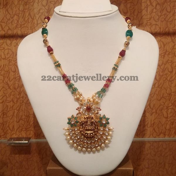 Ruby beads necklace bead necklaces beads and indian jewelry ruby beads necklace aloadofball Choice Image