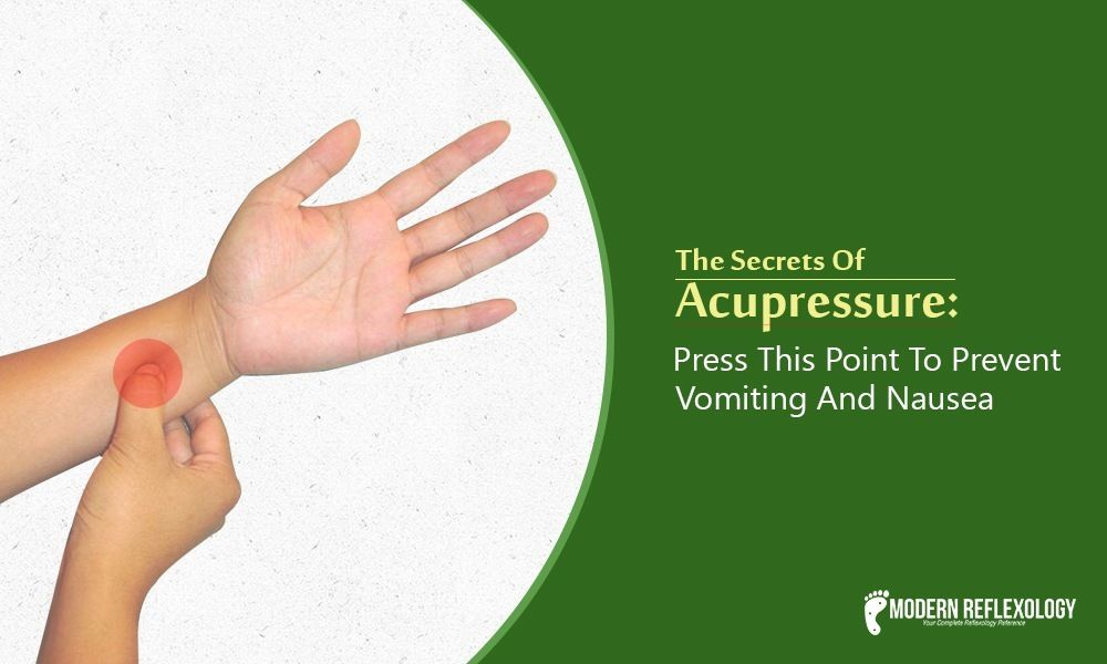 Acupressure point for prevent Vomiting in 2020 ...