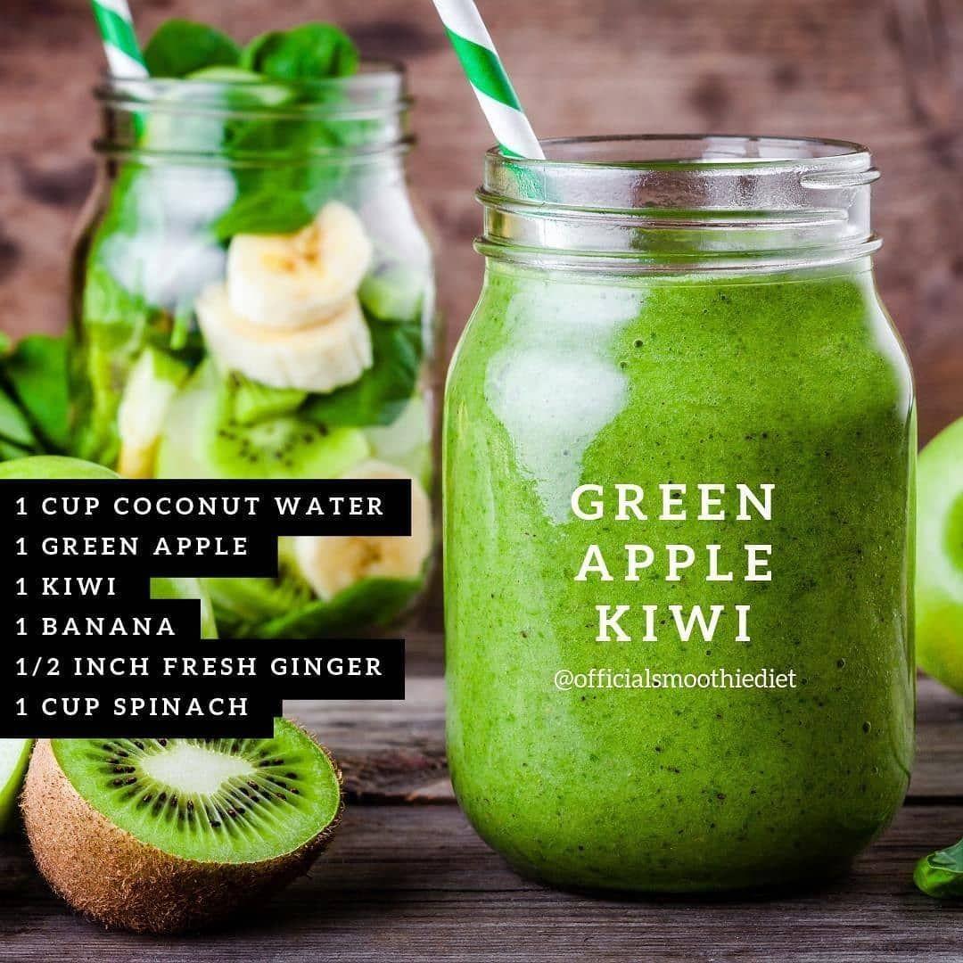 Pin on green detox smoothie mornings