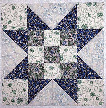 An Evening Star Quilt Block Pattern for Beginning and Expert ... : easy quilt blocks free - Adamdwight.com
