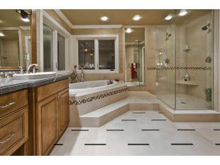Be so nice - I love looking at big bathrooms online all ...