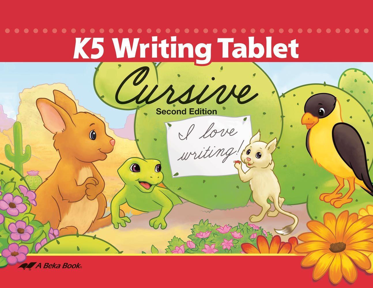 K5 Writing Tablet Cursive Unbound