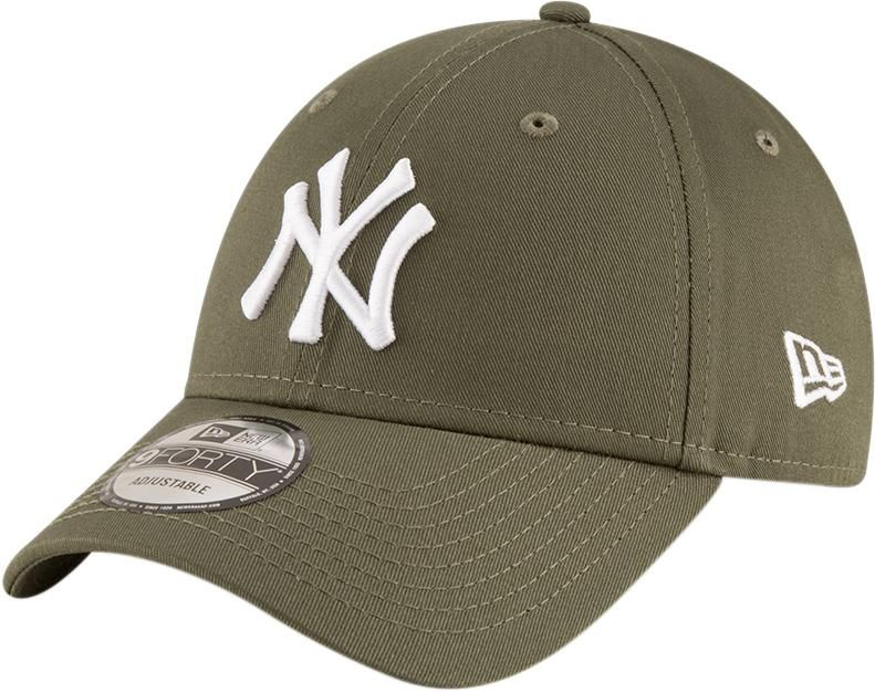 d95228211e2 NY Yankees New Era 940 League Essential Olive Green Baseball Cap – lovemycap