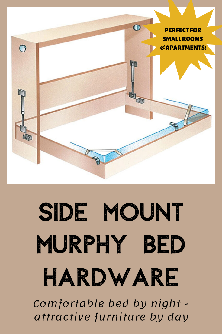 - Side Mount Murphy Bed Hardware (With Images) Murphy Bed Hardware