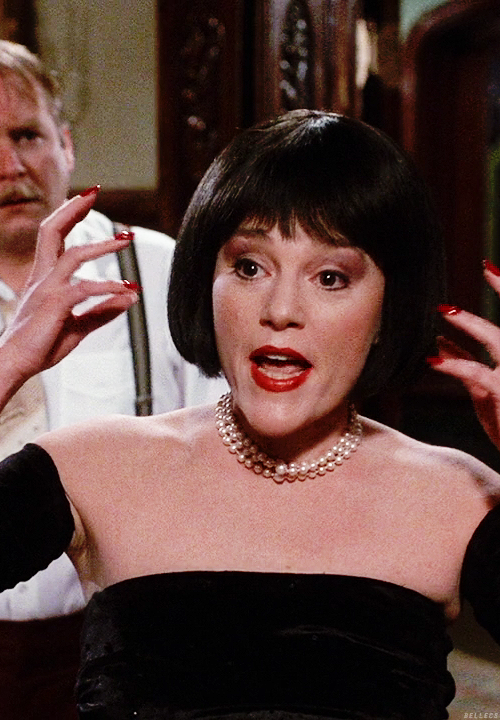I Adore Madeline Kahn Clue Flames Flames On The Side Of My Face