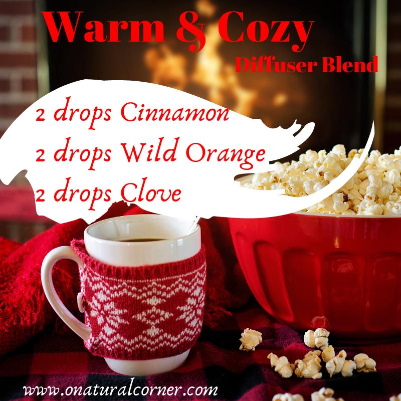 Warm & Cozy Winter Diffuser Blend #winterdiffuserblends