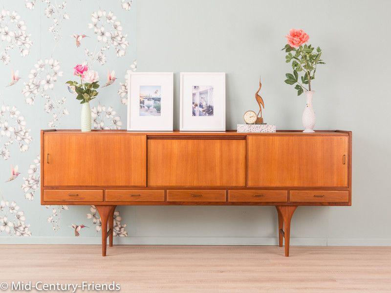 Vintage Kommoden 50er Sideboard, Kommode, Vintage, 60er