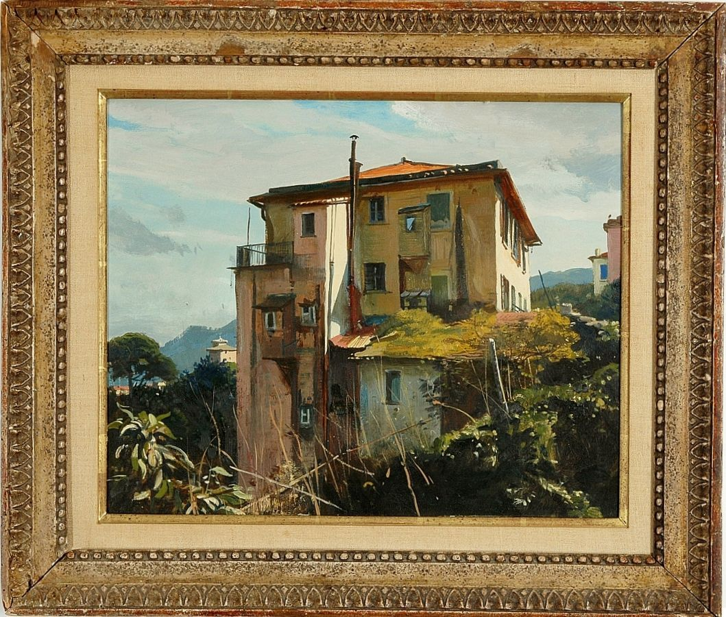 American artists list oil paintings superb 20th c for Atlanta oil painting artists