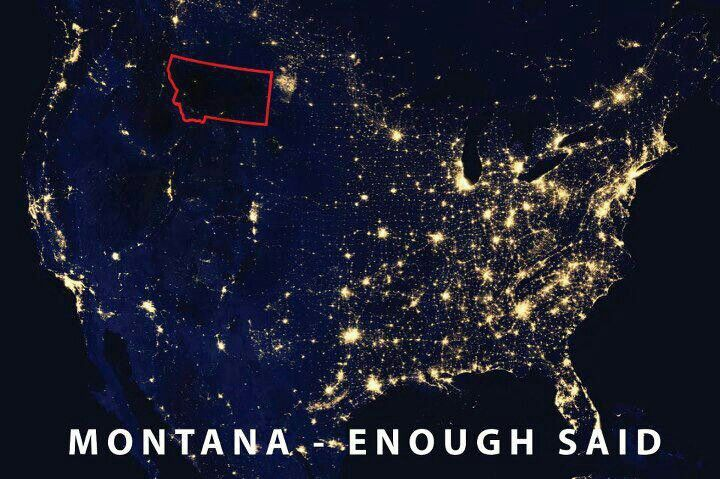 hehe thats montana for ya!:) home sweet home