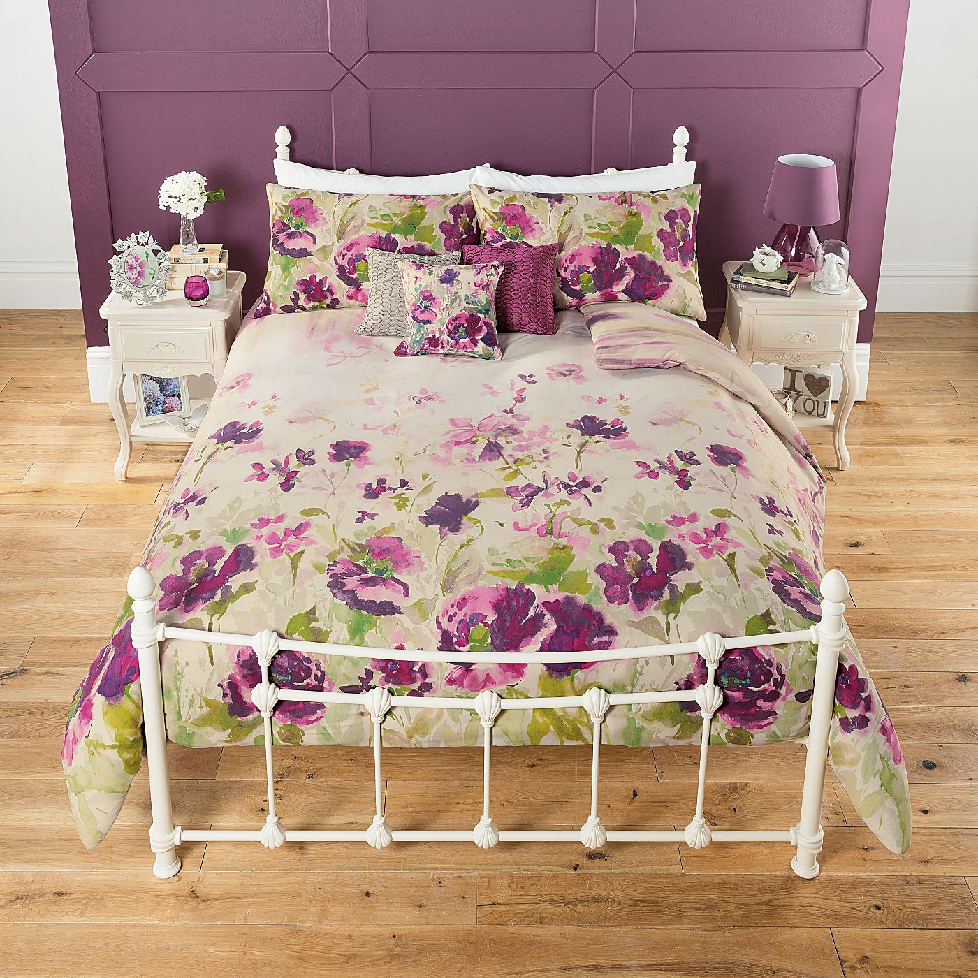 George Home Watercolour Floral Duvet Range | Duvet Covers ...