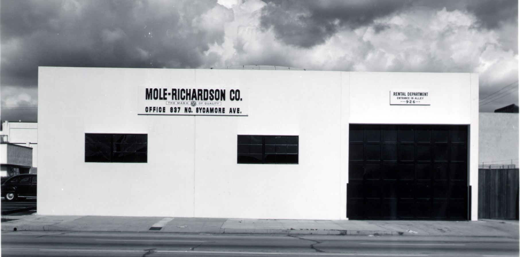 Molerichardson co rentals building