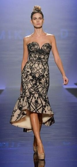 Mikael D S/S 2014 ~ Toronto Fashion Week | Chic Fashion | Pinterest ...