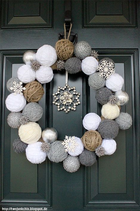 Photo of Craft ideas in winter – decorate creatively with cotton, paper and branches