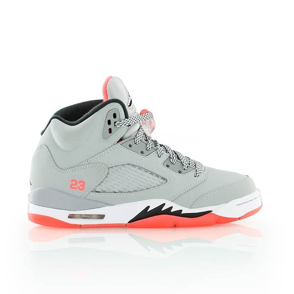 low priced ce75d 84325 wl009 exclusivo nike air jordan 5 retro gs oreo negro gris frío color blanco  para mujer 40352343  jordan air jordan 5 retro gg grey white red bei kickz