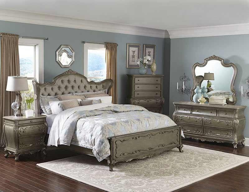 Homelegance  Florentina 4 Piece California King Bedroom Set Amazing Cal King Bedroom Sets Review