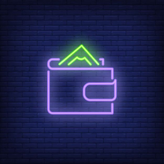 download wallet with money neon sign for free in 2020 neon signs wallpaper iphone neon neon pinterest