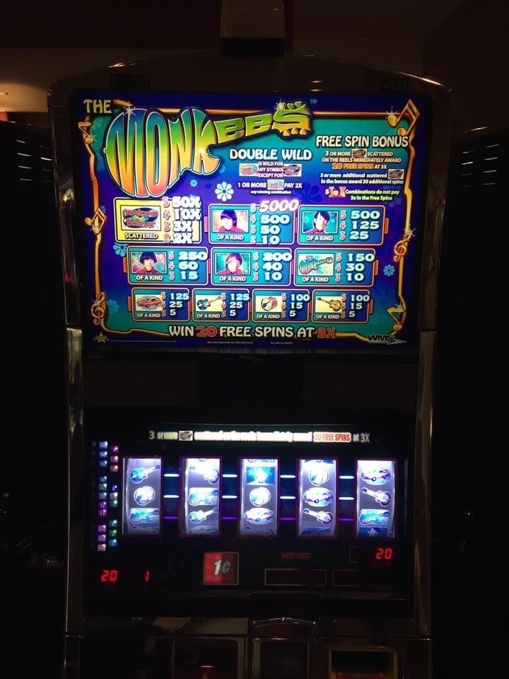 the monkees slot machine