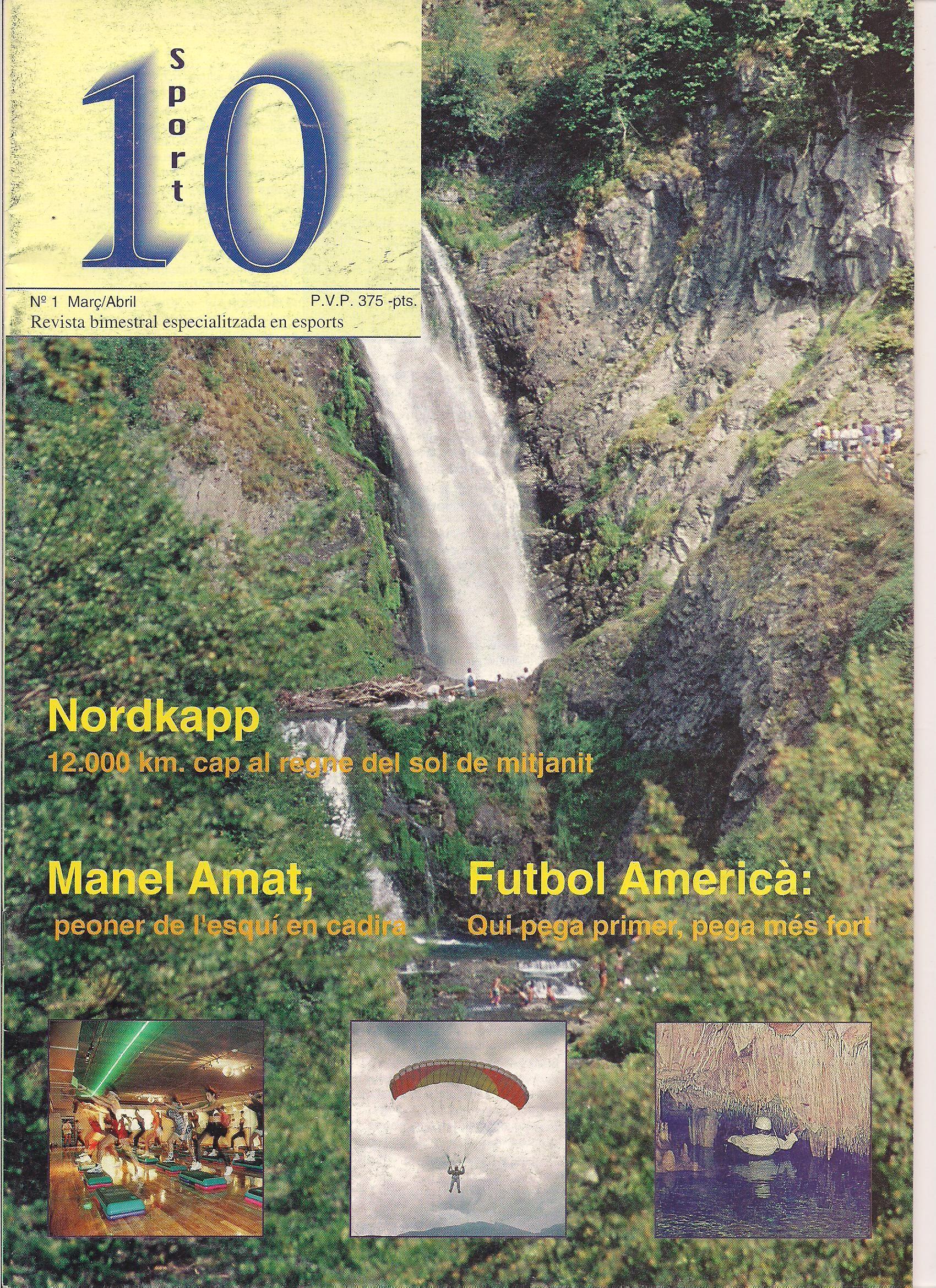 Marzo-abril de 1.995 y 58 páginas en catalan.  375 pesetas de precio.